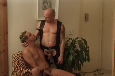 Leather Wolf - Scene 2 - Macho guy video scene