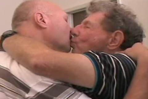 Two old studs getting off