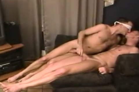 naked take up with the tongue rim engulf plough blindfolded messy males-two