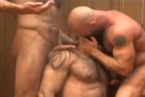 three-some In Sauna