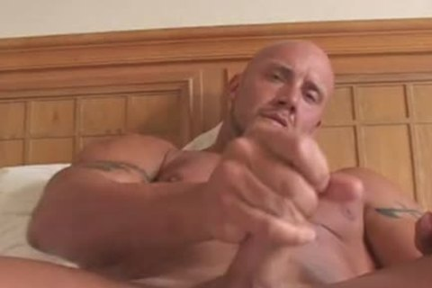 Bald Large fine admirable Bodybuilder
