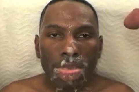 black twink Drowned With White schlong juice