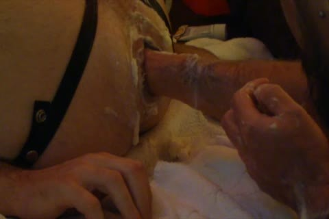 Spent The Weekend Inaugaurating My recent Playroom.   The Focus Was On Going Deeper In Me But My Buddy Still Managed To get Some Punching In There Too.  Here Are The Edited Highlights Of My gap Getting A worthy Work Out.  It Feels A fine Sloppy Mess