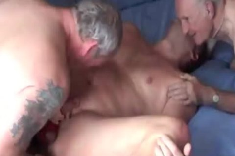The Bottom Is Spit-roatsed: Me In His face gap; Gordon Up His ass. I Then plow The Bottom On His Back And Then All-fours. The Bottom And I 69 And I'm team-drilled from behind. The Bottom Sits On My penis - My Ballstretcher Up Against His ass.. On All