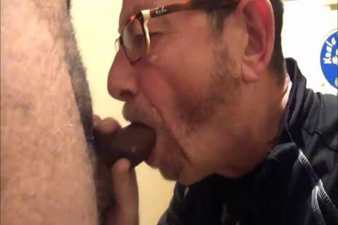 Daddy Meets A delightsome 18yo Bull On CraigsList.  They Meet In The Hotel's baths Where Daddy Sucks Then receives pounded.  Finishes Off His Hung cutie Swallowing His palatable sperm Then His lad Gives Daddy His last Treat By Pissing Down His throat