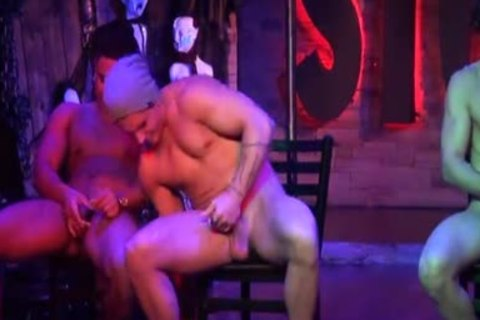Stockbar Presents The jack off Contest With 3 Of Our Dancers Competing.