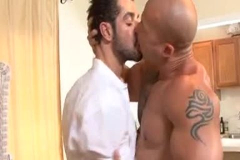 Bad males receive Spanked & Then slammed
