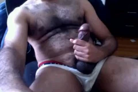 he Has A gigantic Ol cock Sitting In 'em Undies