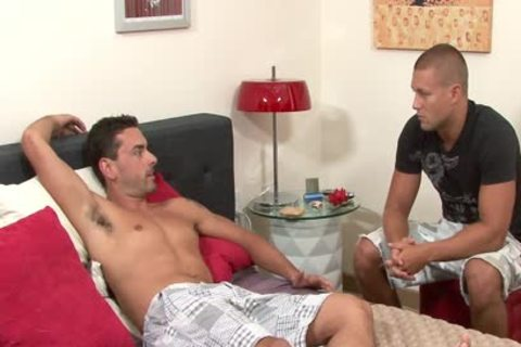 delicious homo acquires Anally Nailed And Cummed