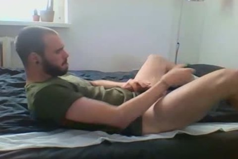 Me Getting gorgeous With Military Sneakers And White Socks, Wearing My Sweaty Army T Shirt That Smells Very Manly
