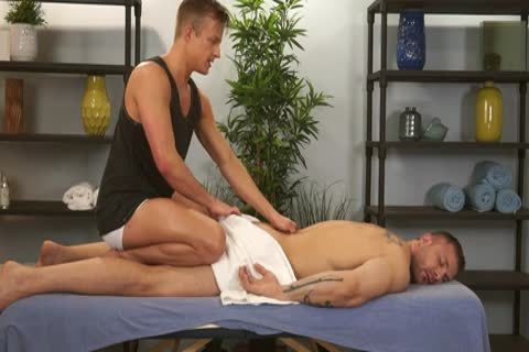 Austin Wolf And Skylar West In A lewd homo Porn Massage