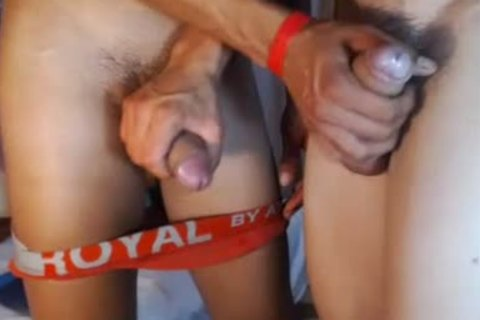 two fashionable Romanian boyz bunch-sex, palatable Blowjobs And sperm On web camera