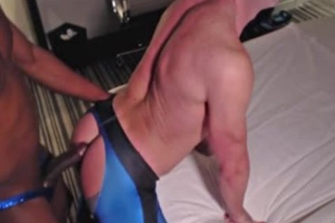 This lad And I Had Talked About Doing This For A long Time. finally Got Our Paperwork Squared Away, And Hooked It Up. truly phat chap, messy gigantic darksome 10-Pounder. 10-Pounder Looked astonishing In Royal Blue Spandex, could not Resist. u cant T