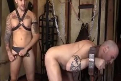 A Bit Of Domination With pumped up males