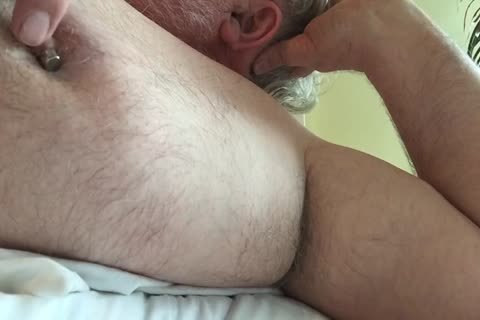 This Week's clip Focuses On My nipp And My Armpit. I Tweak My teats Until It Makes My 10-Pounder Hard, Then I jack off And jack off Until I sperm. lastly, I Rub My BearChub Load Into My Armpit Hair For u To engulf.