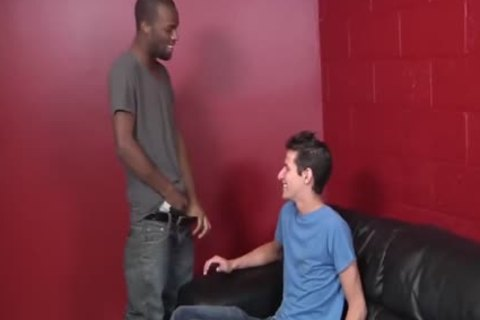 Mike King Tries dark cock For The First Time