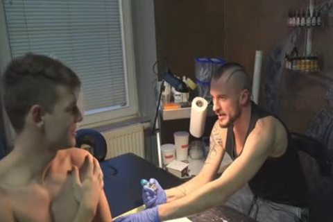 sexy Sex For cash In A Tattoo Studio