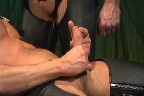Leather nailing And Fisting: Colin Steele & Rick Van Sant