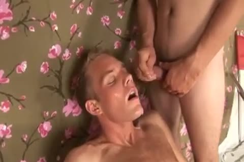 Frat boyz facual cumshots And sperm Eat