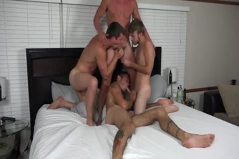 A couple AND TWO allies pounding ON cam