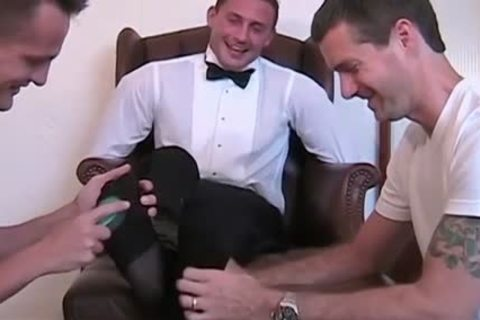Newly Married Davis receives tied Down To The Chair And Tickled