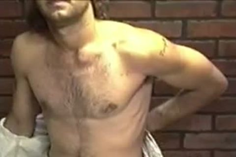 delicious dilettante chap Dallas With long Hair Enjoys In A Solo Play