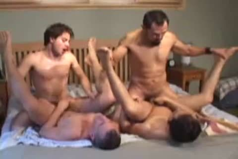 cute homosexual Foursome nail