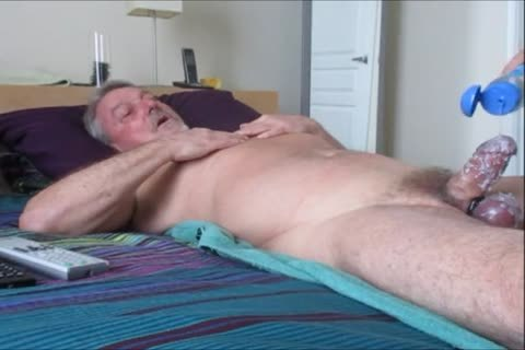 Stroking And sucking another delicious-Waxed Wad From Farmer K.