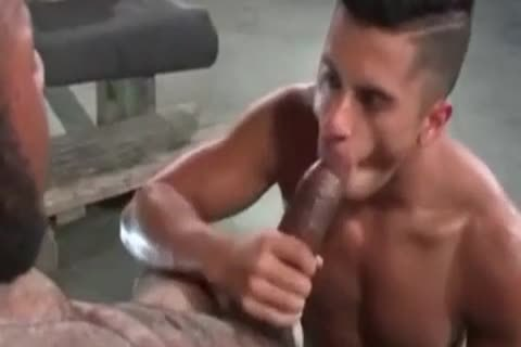 A Very slutty Latino gay guy Likes Some rough Greek From A enormous African Shaft