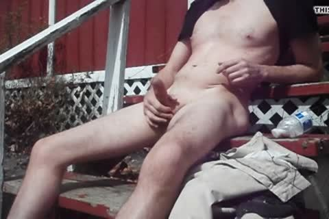 Outdoor joy On Sunny Day, cum discharged
