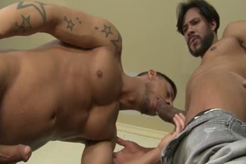 Latin Son oral enjoyment stimulation With cock juice flow