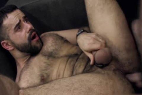 hairy gay wazoo stab And cumshot