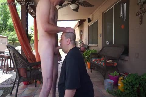 homosexual cock suck In Back Yard