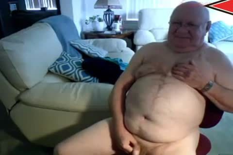 grand-dad cum On web camera