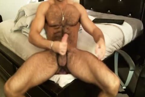 Hunk Sean Zevran toys His wazoo And Cums On cam