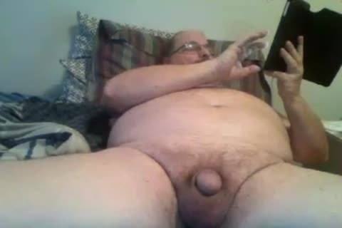 grand-dad jerk off On cam