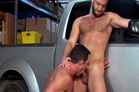 Eddy CeeTee And Nick Capra poke In The Garage