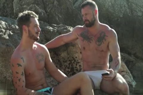 Muscle gay Outdoor And ejaculation