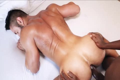 Being poked By A throbbing dark cock