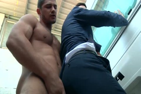 guy In Trailer Park acquires His penis Milked Hard And Then pound A Tushy deep