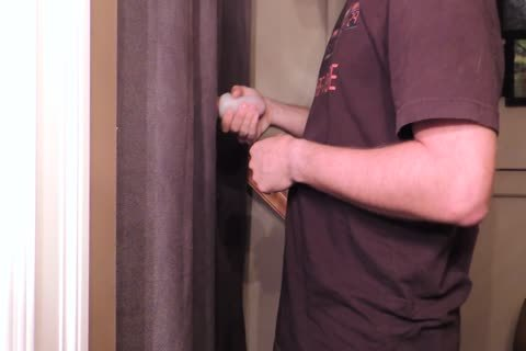 Straight 22 Year old With An 8 Inch Cut Trimmed knob Comes By My Gloryhole