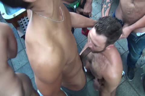 Logan Moore get bunch pounded P.1