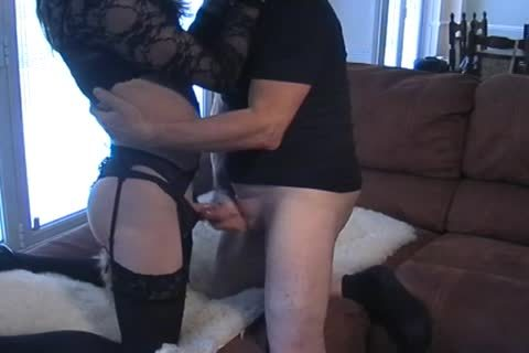 Petgirl Crossdresser slammed By older corporalist