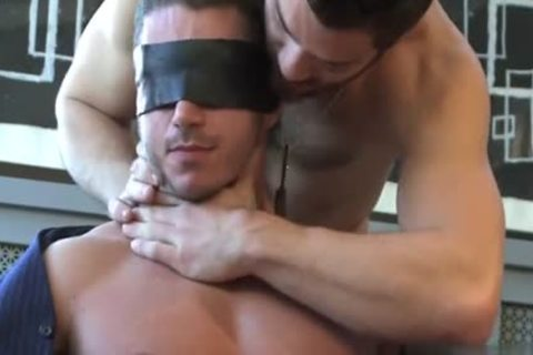 Muscle homosexual blowjob With cumshot