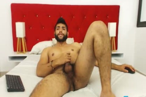 Ecio Murphy Flirt4Free - shaggy chap Fingers His arse And Cums