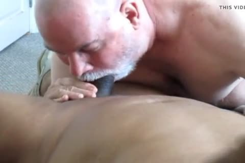 Flowing Nutt From A big Dicked black Daddy.