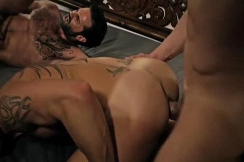Tattoo gay ass sex With spooge flow