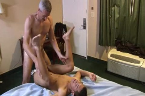 Latin homo a bit of anal And sex cream drinking