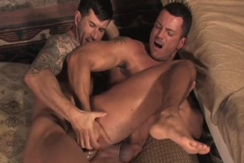 Tattoo gay butthole bang With cumshot