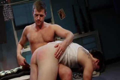 Spanked And fucked For engulfing Himself